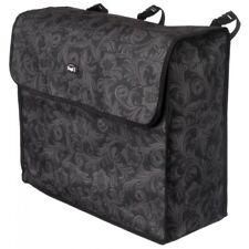 Tough-1 Black Tooled Leather Fun Print Blanket Storage Bag Horse Tack 61-7995