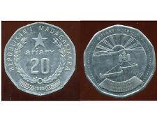 MADAGASCAR 20 ariary 1999
