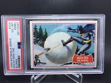 PSA 6 1966 Topps Batman A Series # 22A Death Skis the Slopes MK