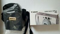 Canon Sure Shot 115u Date 35mm Point & Shoot Film Camera