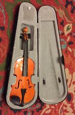 "Unbranded 1/2 Violin & Travel Case Parts Or Project In Good Condition 21"" Long"