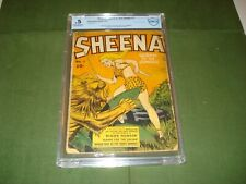 SHEENA #1 QUEEN OF THE JUNGLE, READ THE DESCRIPTION CBCS,LIKE CGC NICE LOOK,1940