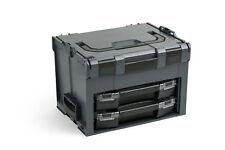 Bosch Sortimo LS-Boxx 306 anthrazit mit i-Boxx 72 H3 und i-Boxx 72 I3