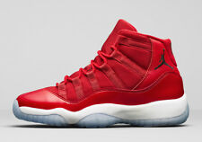 Nike Air Jordan 11 Retro GS WIN LIKE 96 GYM UNIVERSITY RED 378038-623 sz 4Y Kids