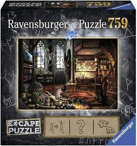 Ravensburger Escape 5 DRAGON LABORATORY 759pc Jigsaw Puzzle - New