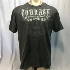 Courage Strength & Honor Mens T-Shirt XL