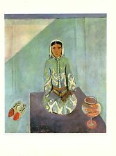 "1973 Vintage MATISSE ""ZORAH ON THE TERRACE SUR LA TERRASSE"" offset Lithograph"