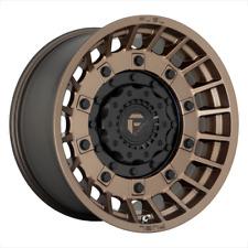 17 Inch Matte Bronze Wheels Rims Ford F150 Truck 6x135 Lug Fuel Militia Set Of 4