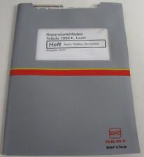 Werkstatthandbuch Seat Toledo / Leon Radio Telefon Navigation ab Baujahr 1999!