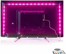 2M LED TV Backlight USB Bias Lighting with 16 Colors and 4 Dynamic Mode for 40 t