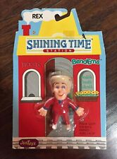 Rare NEW Vtg 1993 Just Toys Shining Time Station REX Bend-ems Plastic Figure