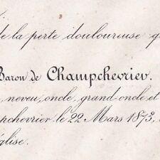 Erasme Léon De La Rue Du Can De Champchevrier 1873