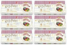 6x Harry Potter Bertie Botts Every Flavour Beans 125g Gift Box By Jelly Belly
