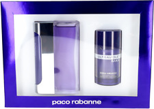 Ultraviolet By Paco Rabanne For Men Set: EDT3.4+Stick Deodorant2.7 New