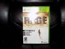 Rage - Anarchy Edition  (Xbox 360, 2011) EUC