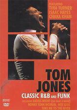NEW SEALED - TOM JONES - CLASSIC R&B AND FUNK - Pop Music DVD 160 Mins Region 0