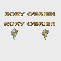 RORY O'Brien Calcamonías para bicicleta, Transfers, ADHESIVOS N.100