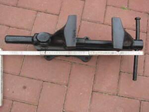 Heuer Front Schraubstock 125mm Paralellschraubstock