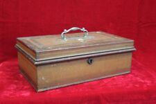 Old Vintage Antique Iron Jewellary Box Home Decor Decorative Collectible PK-94