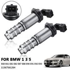 2pcs Vanos Camshaft Solenoid Valve For BMW 1 3 5 Series N43 E87 E90