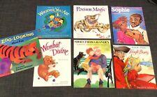 7 Picture Books Mem Fox Tough Boris, Wombat Divine, Possum Magic Whoever You Are