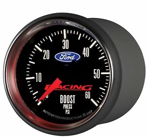 Auto Meter 880106 Ford Racing Series Mechanical Boost Gauge