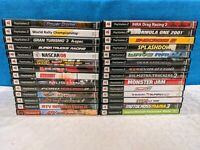 Lot of 28 PS2 Racing/Driving Games - No Duplicates - Tested