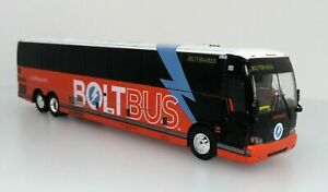 Prevost X3-45 Bolt Bus-Final Edition(Greyhound Company)1:87 Scale Iconic Replica