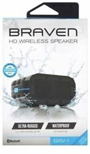 Braven BRV-1 Bluetooth HD Wireless Speaker - Black and Cyan ™
