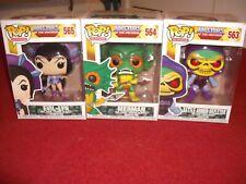 Funko Pop Masters Of The Universe Joblot 3 Figures Skeletor/Evil-Lyn/Merman