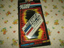 Rare Vintage 1987 Action Force Carded Giant eraser rubber gomme gommine
