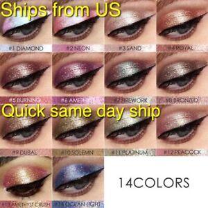 FOCALLURE Glitter & Glow Liquid Eyeshadow Shimmer Waterproof Eyes Makeup *Video*