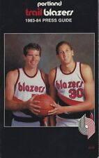 1983-84 PORTLAND TRAILBLAZERS MEDIA GUIDE -