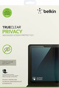 New Belkin True Clear Privacy  Protector for 11.6 Laptop Screen OEM NEW