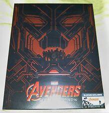 New Avengers Age of Ultron Steelbook 3D+2D Blu-ray Blufans Fullslip #478/700