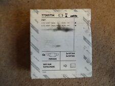 ORIGINALI FIAT 500 & ARBARTH Posteriore Set Pastiglie dei Freni P/N 77365754