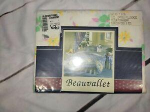 Vintage Beauvallet Oxford Pillowcases X2