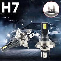 2PC H7 24000Lm LED ampoules de conversion de phares de voiture faisceau 6000K