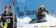 SKI carte MARCO CASANOVA signée
