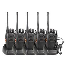 5X Retevis H777 UHF Handfunkgerät Walkie-Talkie 1000mAh Amateur Radios CTCSS/DCS