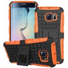 housse étui de protection accessoire orange pour Samsung Galaxy S6 Edge G925