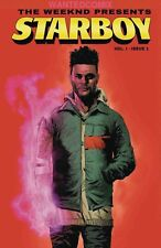 WEEKND PRESENTS STARBOY #1 MARVEL COMIC BOOK JUNE 2018 CHEF SMILEY WEEKEND NEW