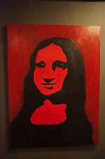 Original Art - Mona Lisa Silhouette - Modern/Contemporary/ Pop