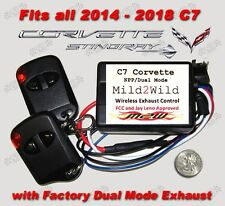 2014 - 2018 C7 Corvette Stingray Mild 2 Wild Exhaust Controller - FREE Shipping
