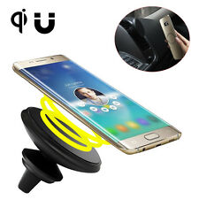 Magnetic Car Charger Mount Air Vent Qi Wireless Charging for Samsung Galaxy S8
