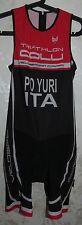 BODY TRIATHLON CICLISMO CYCLING NUOTO COLLI CARPI ITALY YURI ITA WORN SZ.S SPORT