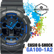 Casio G-Shock Bold Face. Tough Body. Series Watch GA100-1A2 AU FAST & FREE*