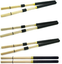 Professional hand made Rute Hot Rods Drum Sticks Drumsticks Brushes - Palisso
