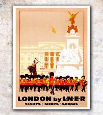 "London Art Travel Poster Vintage Print 12x16"" Rare Hot New A508"