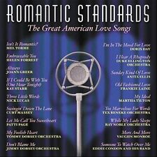Romantic Standards: The Great American Love Songs by Various Artists (CD) NEW